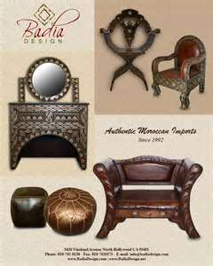 Moroccon furniture influence