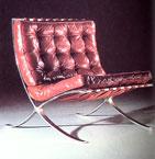 Barcelona Chair, 1929 Mies van der Rohe
